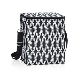 Picnic Thermal Tote in Black Links - 3034