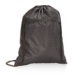 Cinch Sac in City Charcoal Swiss Dot - 3039