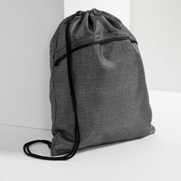 Cinch Sac in Charcoal Crosshatch - 3039