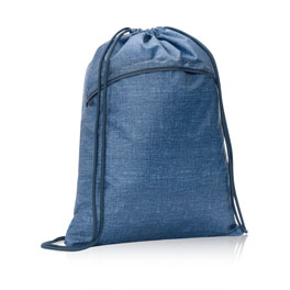 Cinch Sac in Blue Crosshatch - 3039