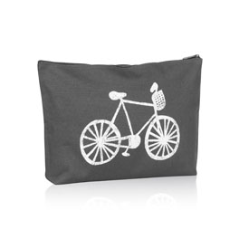 Zipper Pouch in Bicycle - 3045