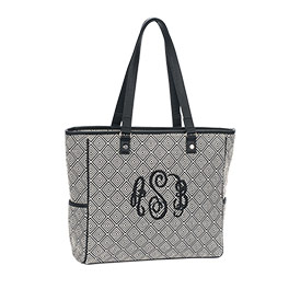Cindy Tote in Graphic Weave - 3057
