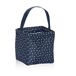 Littles Carry-All Caddy in Navy Dancing Dot - 3401