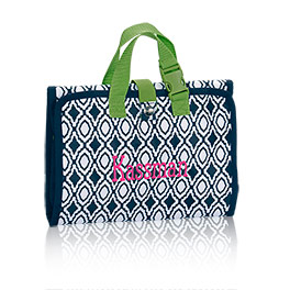 Timeless Beauty Bag in Navy Perfect Pendant - 3849