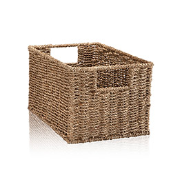 Your Way Rectangle Basket in Natural - 4151