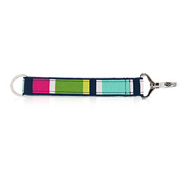 Hang-It-Up Key Fob in Preppy Pop - 4215