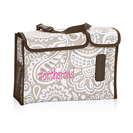 Pack N Pull Caddy in Taupe Playful Parade - 4357
