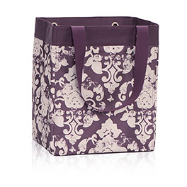 Essential Storage Tote in Vintage Damask - 4446