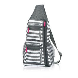 Sling-Back Bag in Grey Wave - 4538