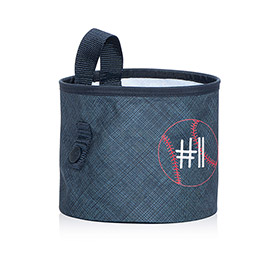 Oh-Snap Bin in Navy Cross Pop - 4598