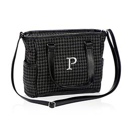 Mini Cindy in Black Houndstooth - 4746
