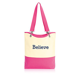 Canvas Crew Carry-All (URU) in U R U Natural (w/ Pink) - 4778