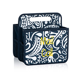 Double Duty Caddy in Navy Playful Parade - 4787