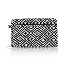 Perfect Cents Wallet in Graphic Weave - 4808