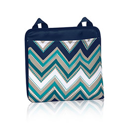 Oh-Snap Pocket in Dotty Chevron - 4830