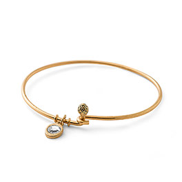 Cherish Bracelet in Gold Tone - 6154