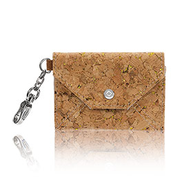 Letters From London in Tan Metallic Cork - 6201