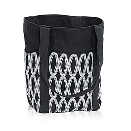 Go-To Tote in Black Links - 6208