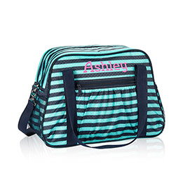 All-In Tote in Deep Sea Wave - 6212