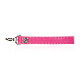 Wristlet Strap in Candy Pink Pebble - 8033