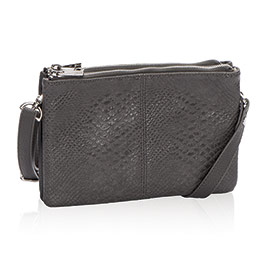 Street Style in City Charcoal Snake - 8082