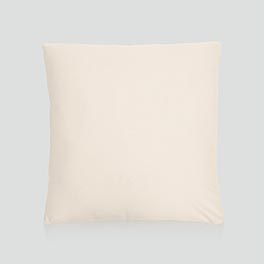 Statement Canvas Pillow Cover 18x18 in Natural - 8112