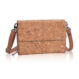 Tons of Funds in Tan Metallic Cork - 8139