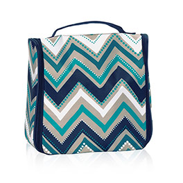 Hanging Traveler Case in Dotty Chevron - 8161