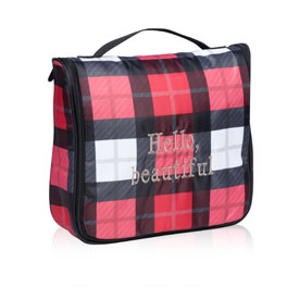 Hanging Traveler Case in Check Mate - 8161