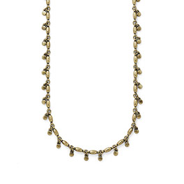 Full Swing Necklace in Antique Brass  - 8182