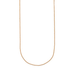 "Dainty Rolo Chain - 24"" in Gold Tone - 8197"