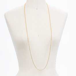 "40"" Ball Chain in Gold Tone - 8200"