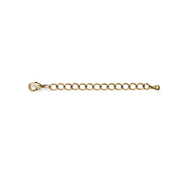 "Necklace Extender - 2"" in Gold Tone - 8231"