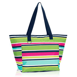 Tote-ally Thermal in Preppy Pop - 8257