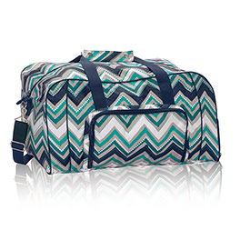 All Packed Duffle in Dotty Chevron - 8319