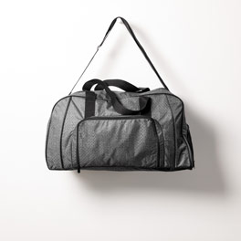 All Packed Duffle in Charcoal Crosshatch - 8319