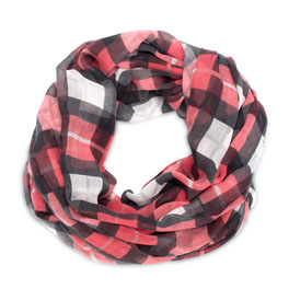 Avenue Scarf in Check Mate - 8331