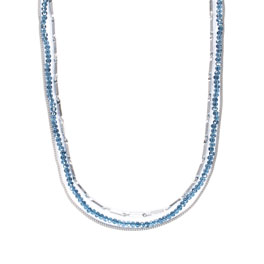 Radiance Necklace in Starlight Blue - 8366