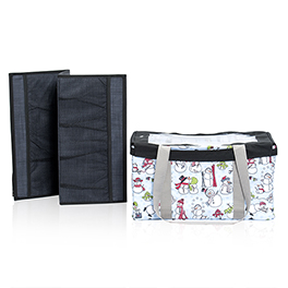 Medium Utility Tote Bundle in Snow Daze - 8407