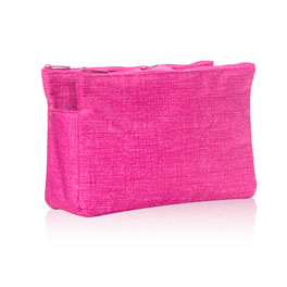 Swap-It Pocket in Pink Crosshatch - 8444