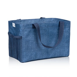 All-In Organizer in Blue Crosshatch - 8495