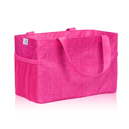 All-In Organizer in Pink Crosshatch - 8495