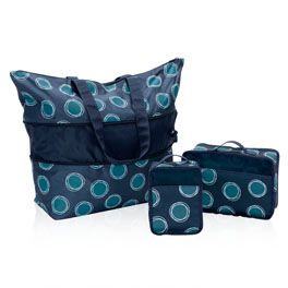 Expand-A-Tote Bundle in La-Di-Dot - 8585