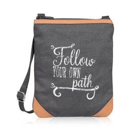 Explorer Crossbody in Follow Your Own Path - 8606