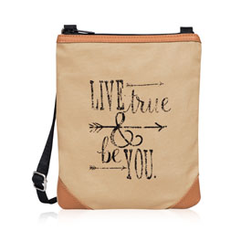 Explorer Crossbody in Live True & Be You - 8606