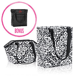 Pack N' Snack Bundle and Take Two Tote - 8677
