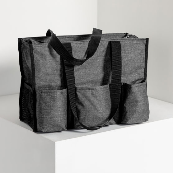 Zip-Top Organizing Utility Tote