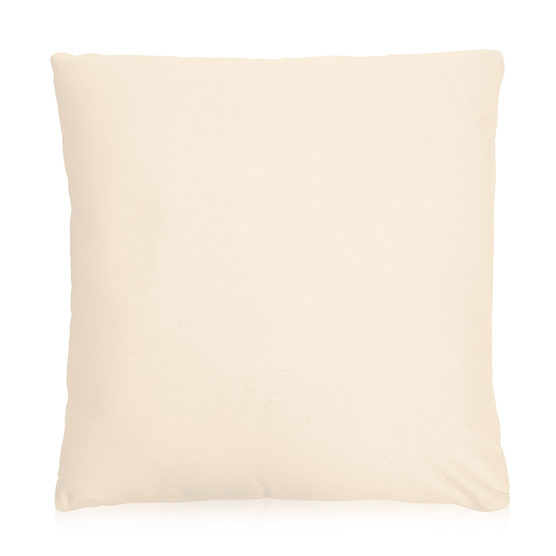 Statement Canvas Pillow Cover 24x24