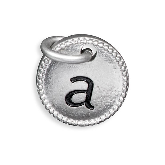 Round Initial Charm